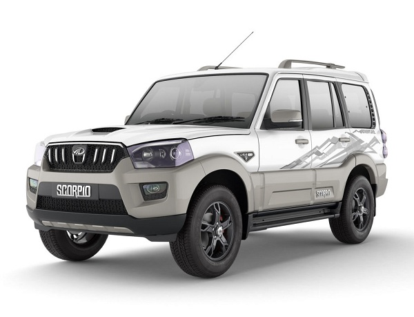 Mahindra Scorpio Adventure Edition Front Low Side View