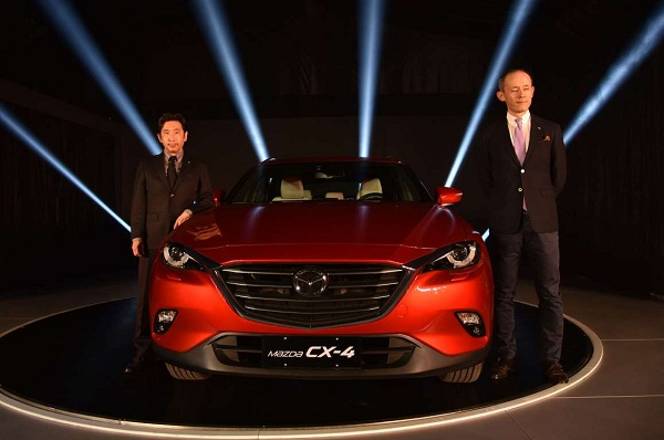 Mazda CX-4 2017 Unveil