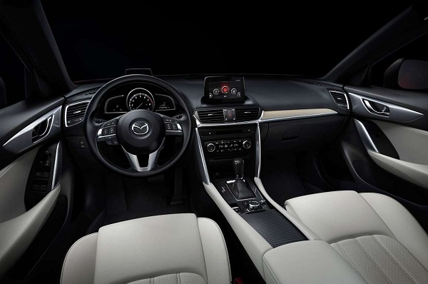 Mazda CX-4 2017 Interior View