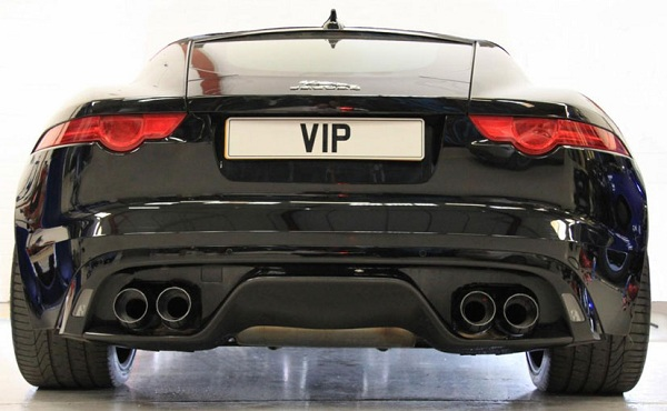 Jaguar F-Type R Rear View
