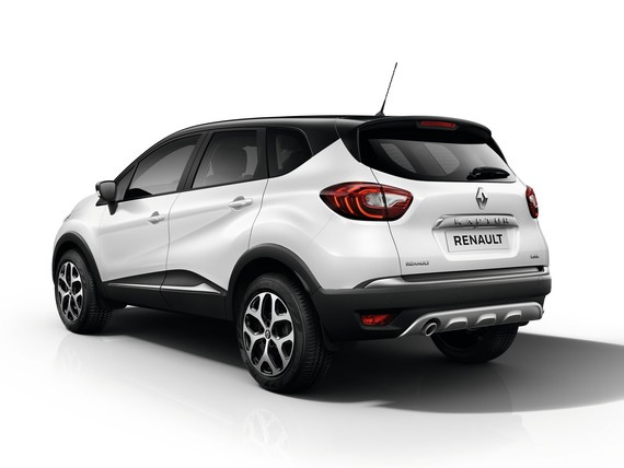 Renault Kaptur Rear Side View