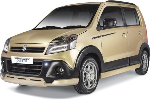 Maruti Suzuki Wagon R XRest Front Low View