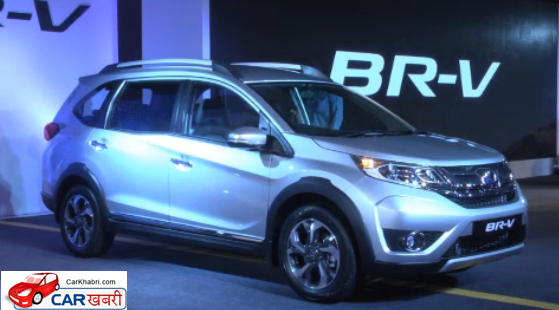 Honda BR-V Front Low Side View