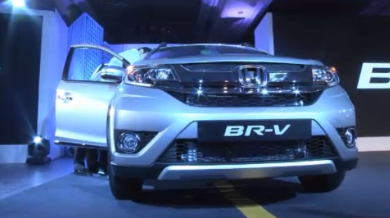 Honda BR-V Front Fascia
