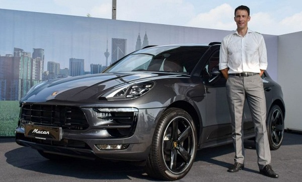 Porsche Macan 2016 Unveil