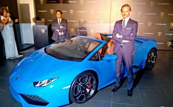 Lamborghini Huracan Spyder Launch