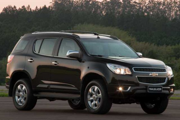 Chevrolet Trailblazer 2017 Front Side View