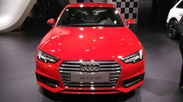 Audi A4 Front View