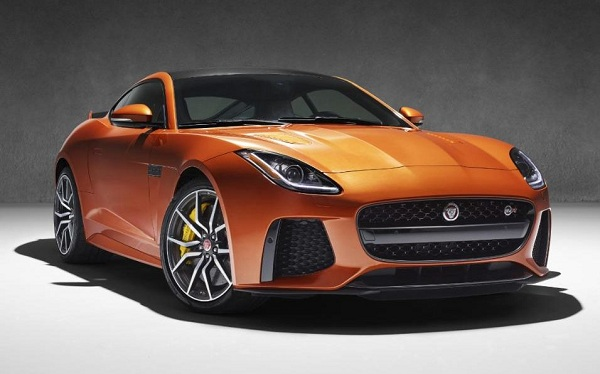 Jaguar F-Type SVR Front Low View