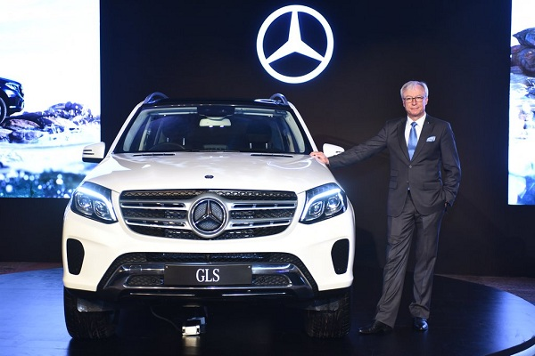 Mercedes Benz GLS Launch
