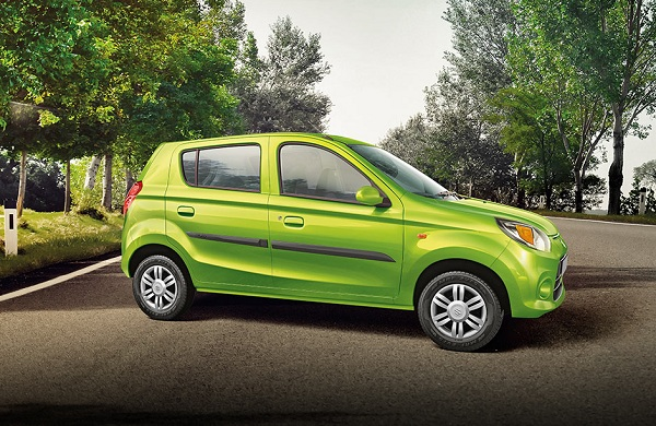 Maruti Suzuki Alto 800 Side View