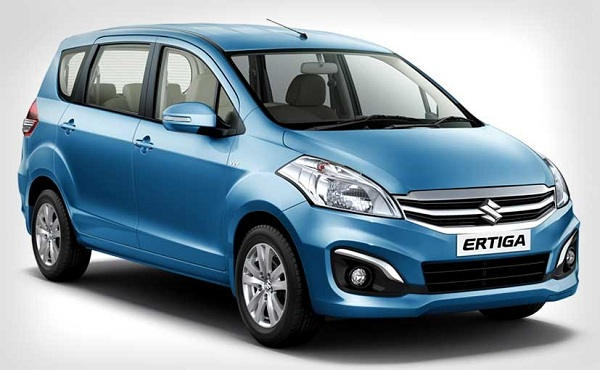 Maruti Suzuki Ertiga Facelift Front Low View