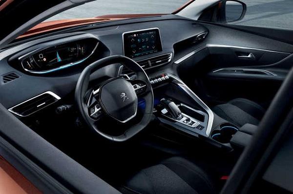 2016 Peugeot 3008 Interiors