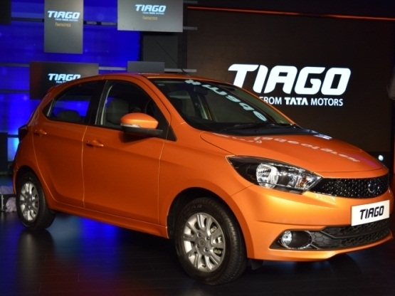 Tata Tiago Front Low View