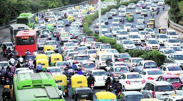 Vehciles in Delhi