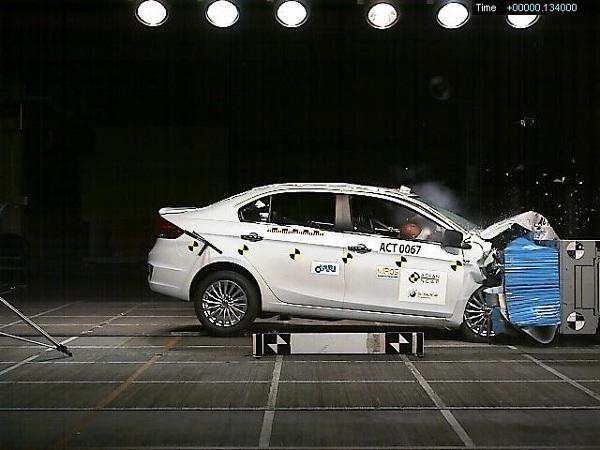 Maruti Suzuki Ciaz NCAP Test