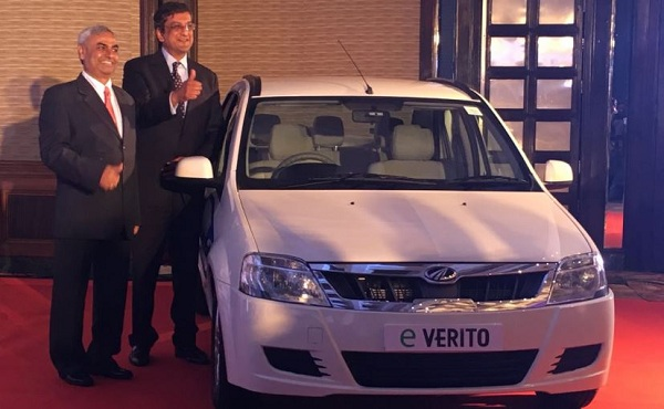 Mahindra e-Verito Launch