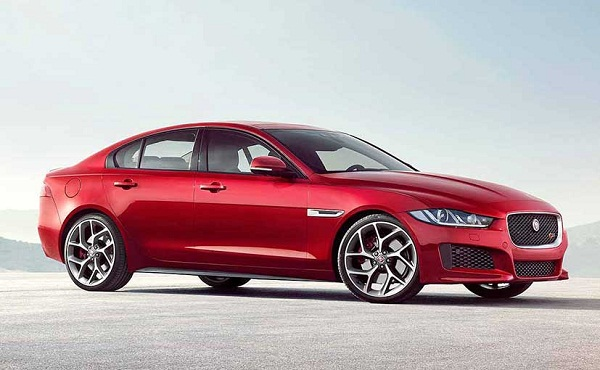 Jaguar XE Side View