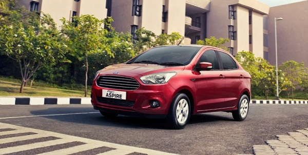 Ford Figo Aspire Front Low View