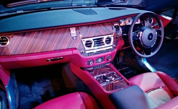 Rolls Royce Dawn Central Console