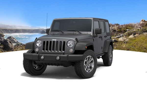 Jeep Wrangler Front Low Side View