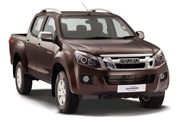Isuzu D_Max Front Side View