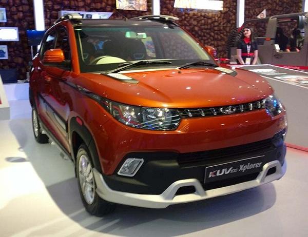 Mahindra KUV100 Xplorer Edition