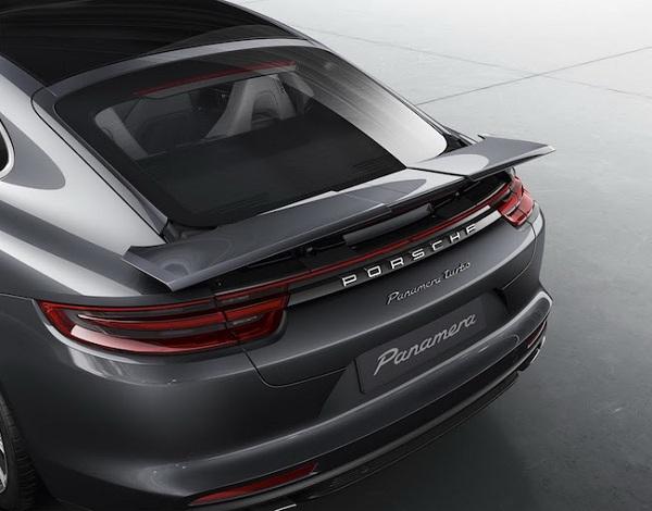 Porsche Panamera 2017 Rear Spoiler
