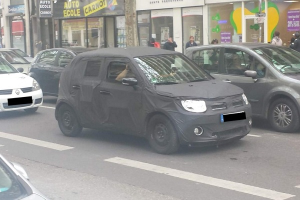 Maruti Suzuki Ignnis Front Side View