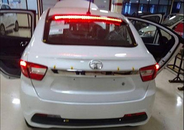 Tata Kite 5 Rear View