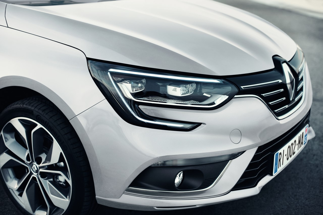 Renault Megane Front View