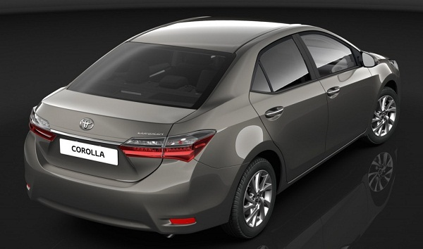 Toyota Corolla Altis 2017 Rear Side View