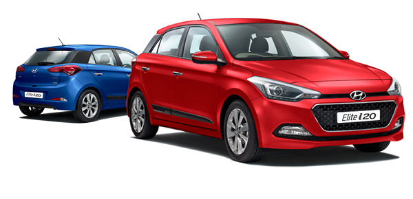 Hyundai Elite i20 Front Low Side View