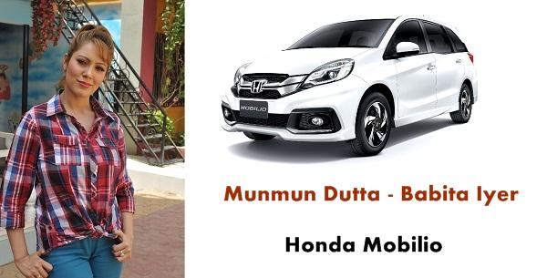 Munmun Dutta Honda Mobilio