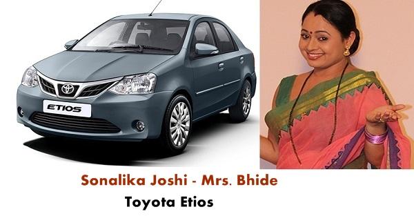 Mrs. Bhide Toyota Etios