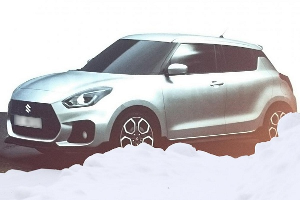 Front Low Side View Maruti Suzuki Swift 2017