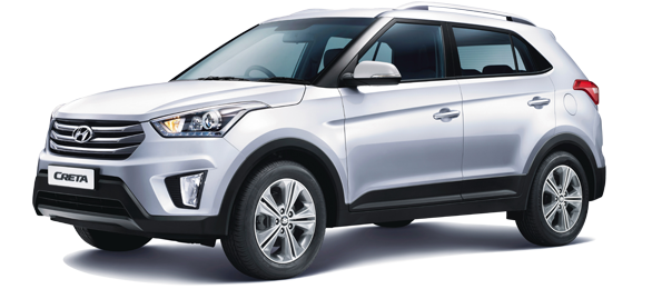 Hyundai Creta Front Low Side View