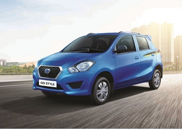 Datsun Go Style Edition Front Low View