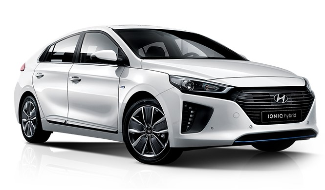 Hyundai Ioniq Plug-in Hybrid Front Low View