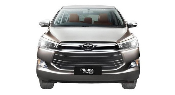 Toyota Innova Crysta Petrol Front View