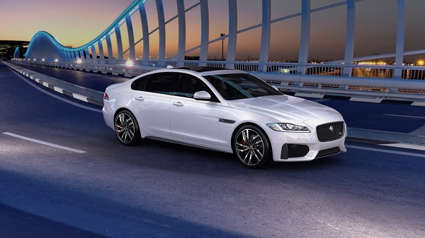 Jaguar XF Front Side View