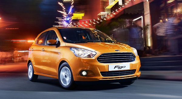 Ford Figo Front Side View
