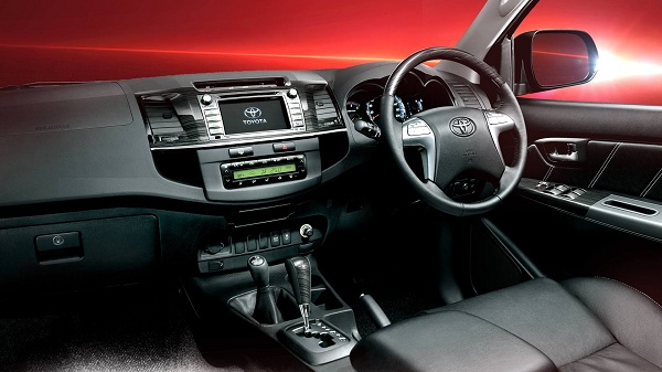 2016 Toyota Fortuner Interior