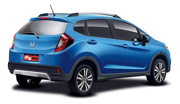 Honda WR-V Crossover Rear