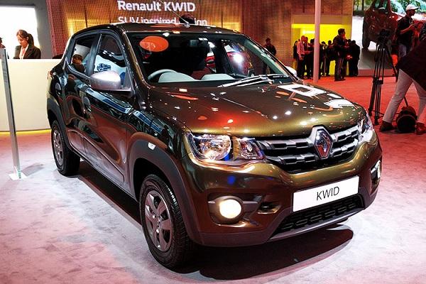 Renault Kwid Front Side