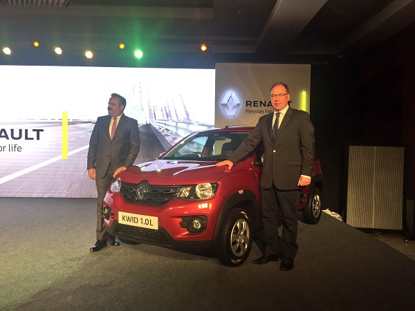 Renault Kwid 1.0 litre Launch