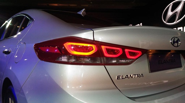 2016 Hyundai Elantra Rear Tail Light