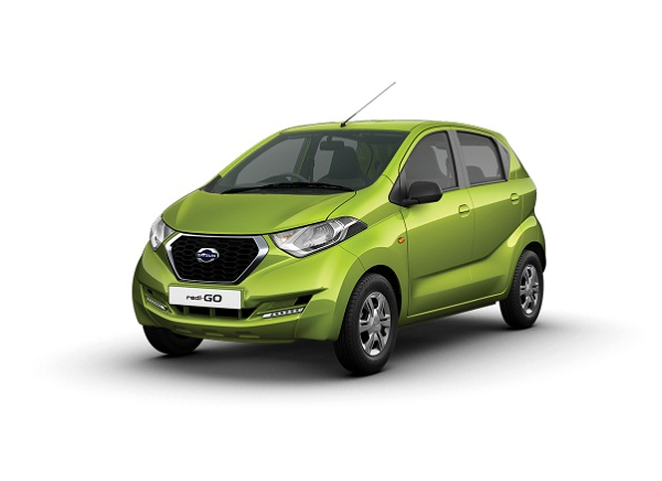Datsun RediGo Front Low View