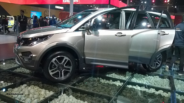 Tata Hexa Side View