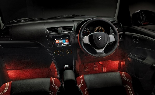 Maruti Suzuki Swift Deca Interior